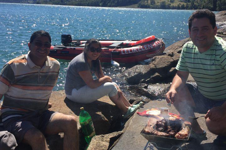 Lelikelen-ko: Paseando en el lago Maihue